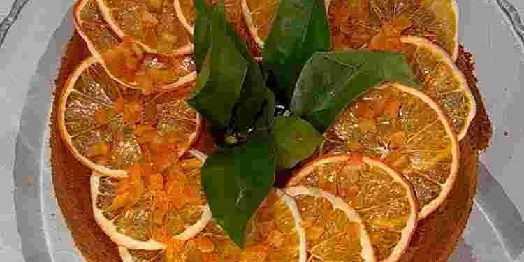 Chiffon cake all'arancia è sempre mezzogiorno