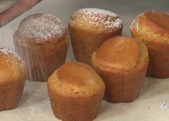 Cotto e mangiato muffin al miele e limone